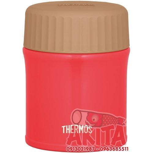Bình ủ cháo, súp Themos 380ml JBI-382 (màu đỏ)