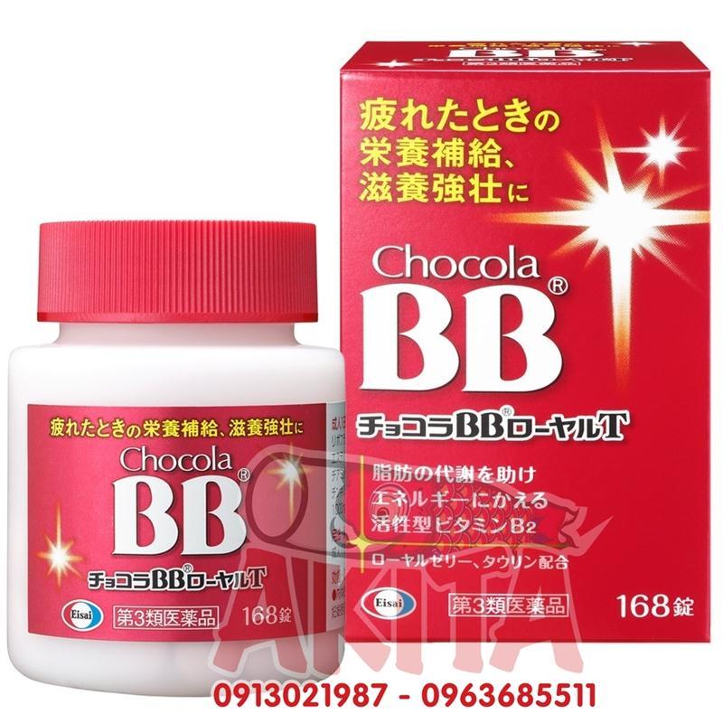 Vitamin tổng hợp BB Chocola Royal T - 168v
