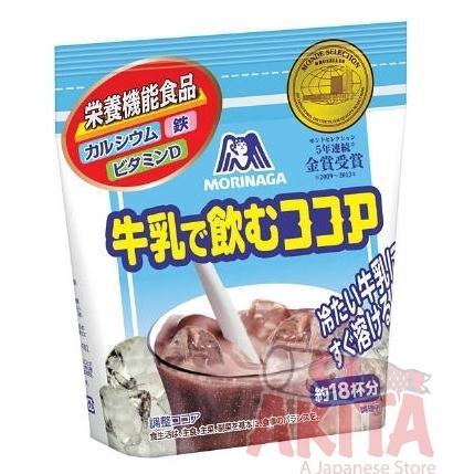 Bột Cacao Morinaga bổ sung Canxi, Vitamin D 220gr