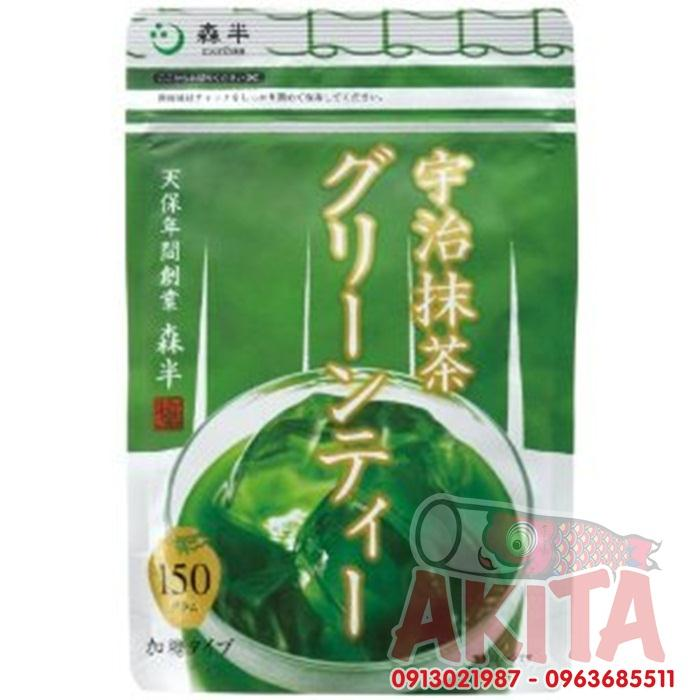 Bột trà xanh có đướng Morihan 150gr
