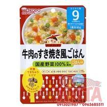 CHÁO WAKODO 9th+ (vị Bò+ Trứng+ Rau Củ )