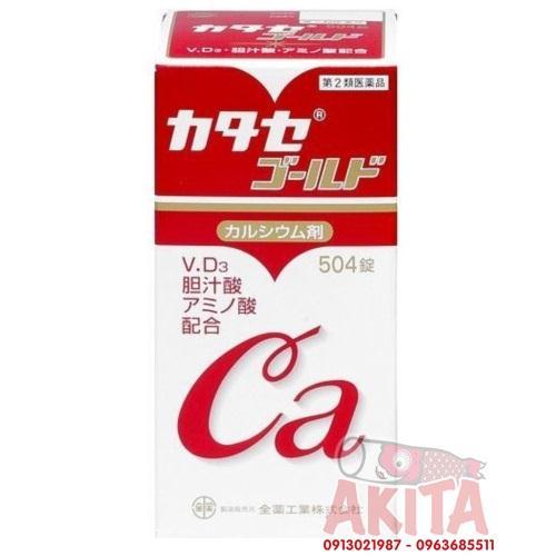 Viên uống bổ sung Canxi màu đỏ (504 viên)