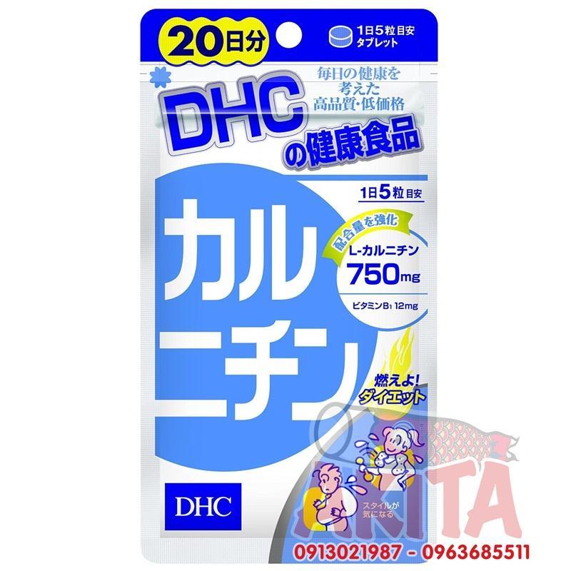 Viên uống giảm cân DHC 100v (20 ngày)