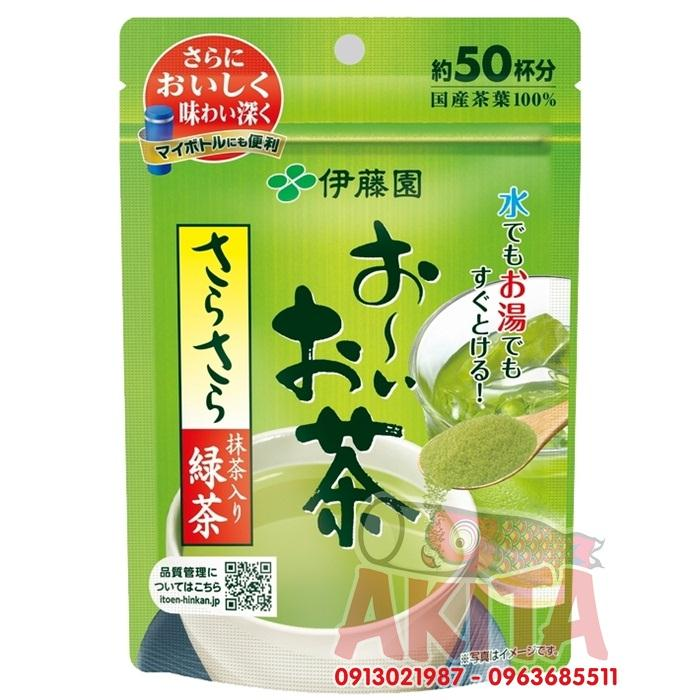 Bột trà xanh matcha ITOEN nguyên chất 40gr
