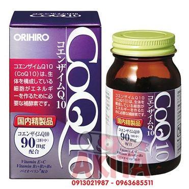 Viên uống CoQ10 ORIHIRO 90v