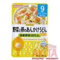 CHÁO WAKODO 9th+ (vị Mì Udon, Trứng, Thịt, Hàu và Rau Củ )