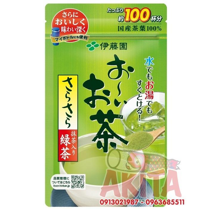Bột trà xanh matcha ITOEN nguyên chất 80gr