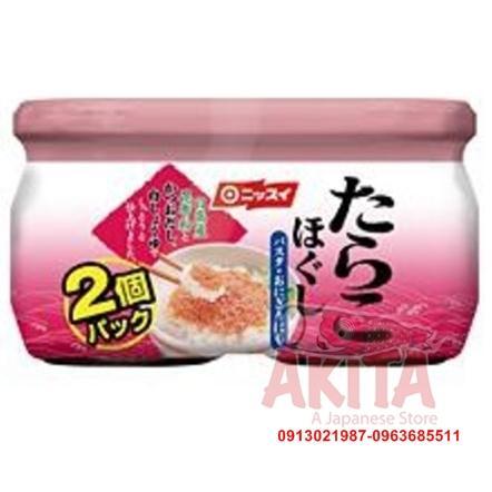 Trứng cá tuyết Nissun Tarako (2 hũ x50gr)
