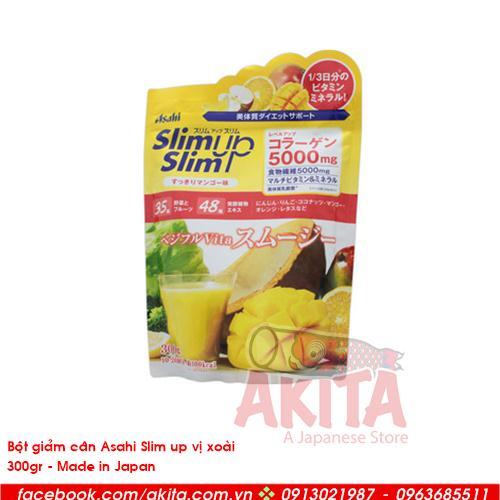 Bột giảm cân Asali Slim up vị xoài (200gr)