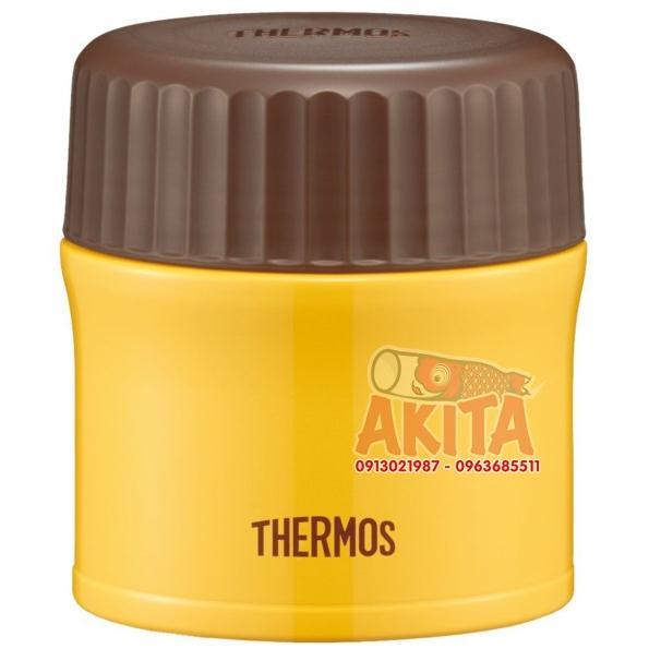 Bình ủ cháo, súp Themos 270ml (màu vàng)