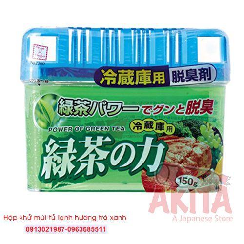 Hộp khử mùi tủ lạnh hương trà xanh (150gr)