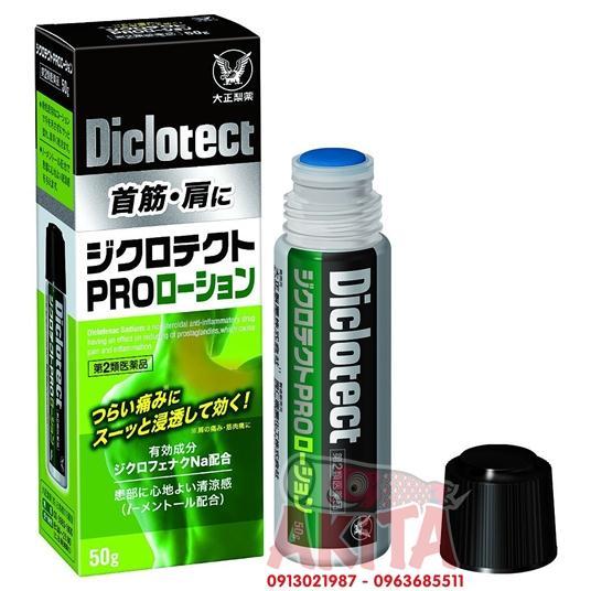 Dầu kháng viêm, giảm đau xương khớp Diclotect (50gr)