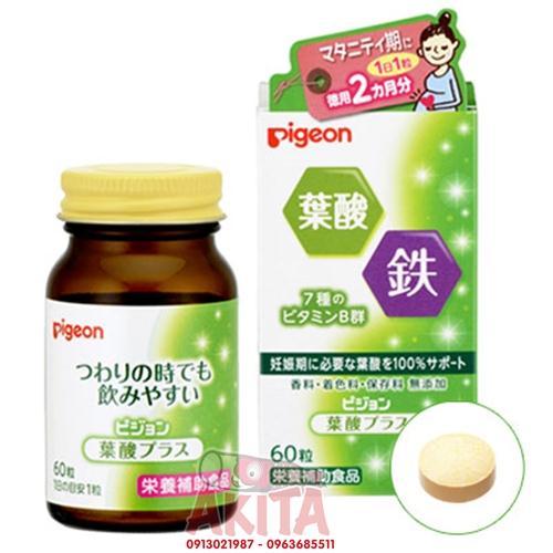 Vitamin dành cho bà bầu Pigeon (hộp 60 viên)