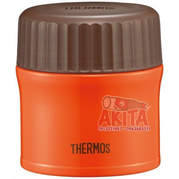Bình ủ cháo, súp Themos 270ml (màu cà rốt)