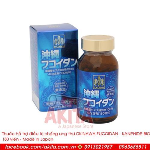Thuốc hỗ trợ điều trị chống ung thư Okinawa Fucoidan (180v)