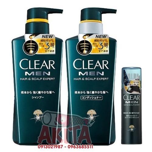 Set Clear Men chăm sóc tóc cho quý ông
