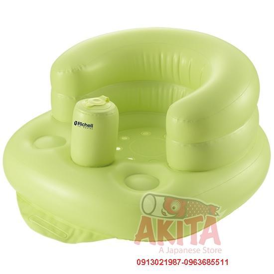 Ghế hơi tập ngồi Richell, dành cho bé từ 7 tháng tuổi đến 2 tuổi