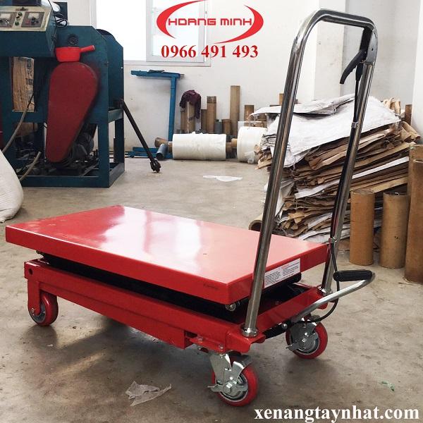 xe nang mat ban 300kg
