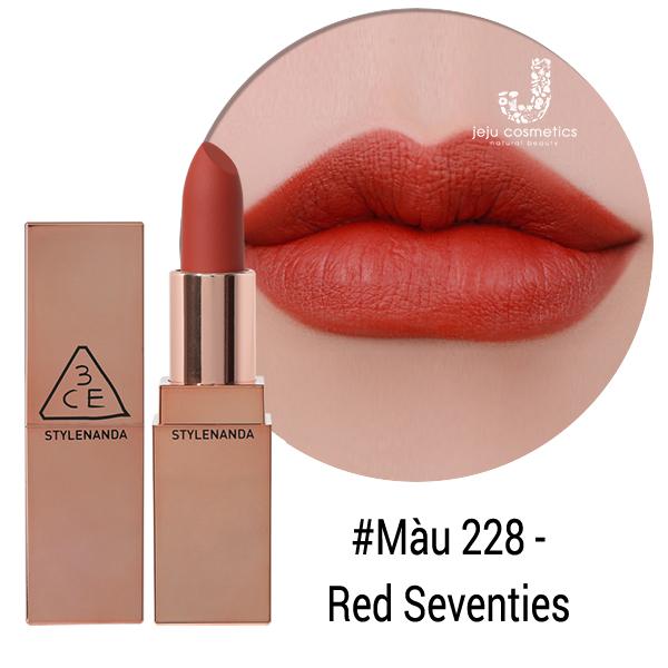 Son 3CE Matte Lip Color - 228