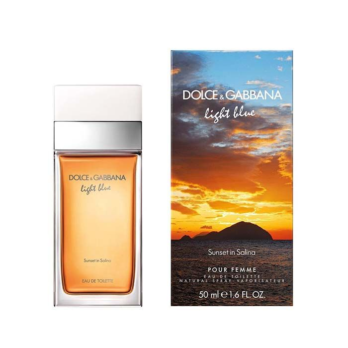 Dolce & Gabbana Light Blue Sunset In Salina Limited Edition Pour Femme EDT 50ml