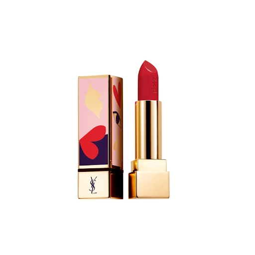 Son YSL Màu 119 Light My Red – Đỏ Berry - Love Collector's Edition