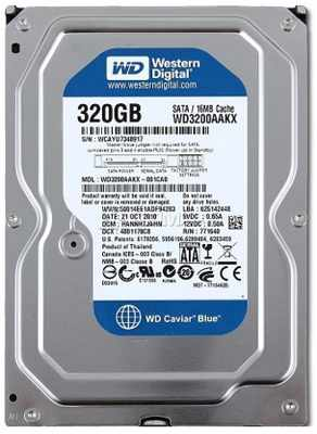 ổ cứng PC 320gb