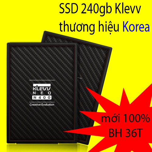 ổ cứng ssd 240gb Klevv