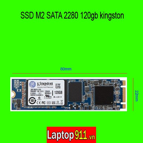 SSD M2 sata 2280 120gb Kingston SA400M8/120G