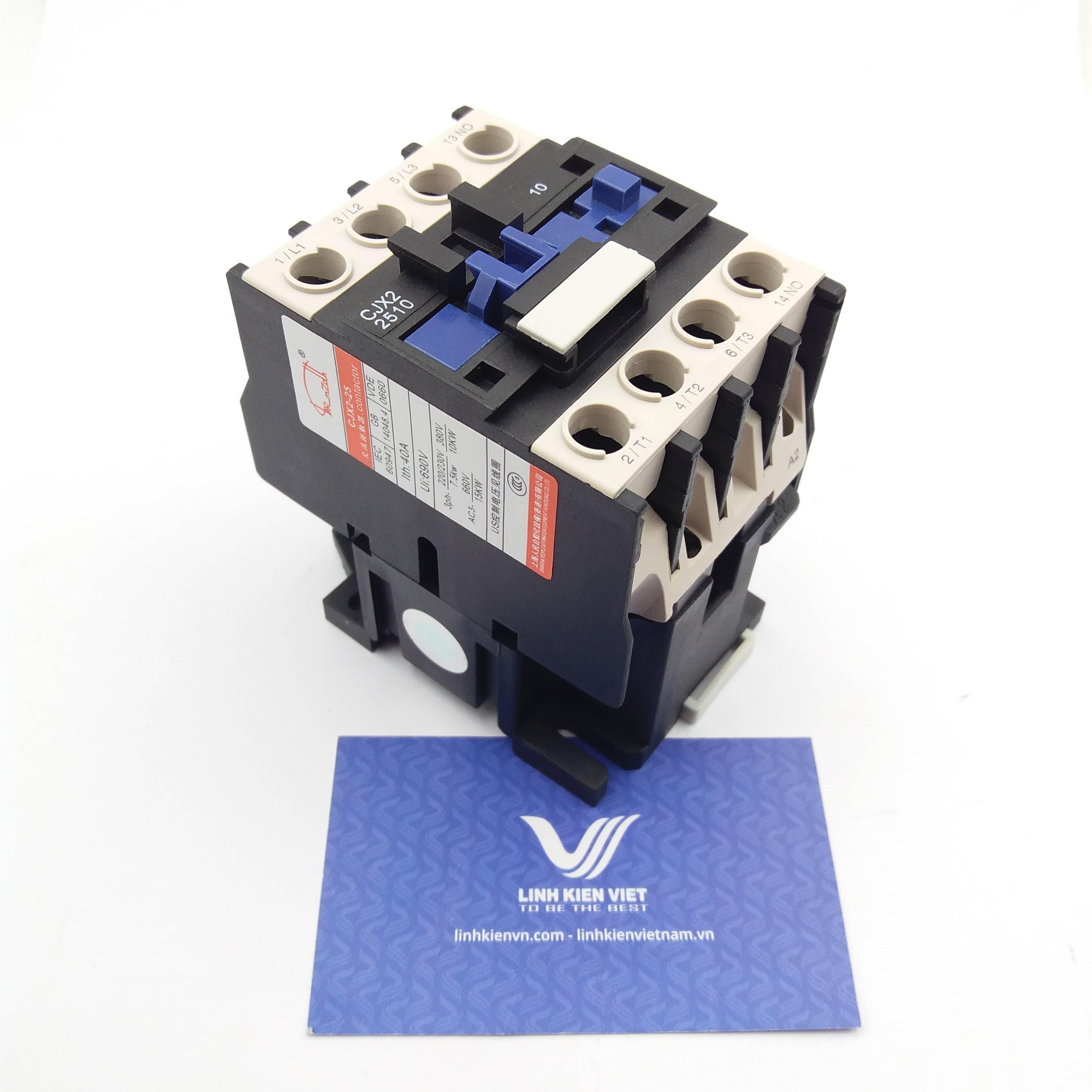 Khởi động từ CJX2- 2510 25A - 220V