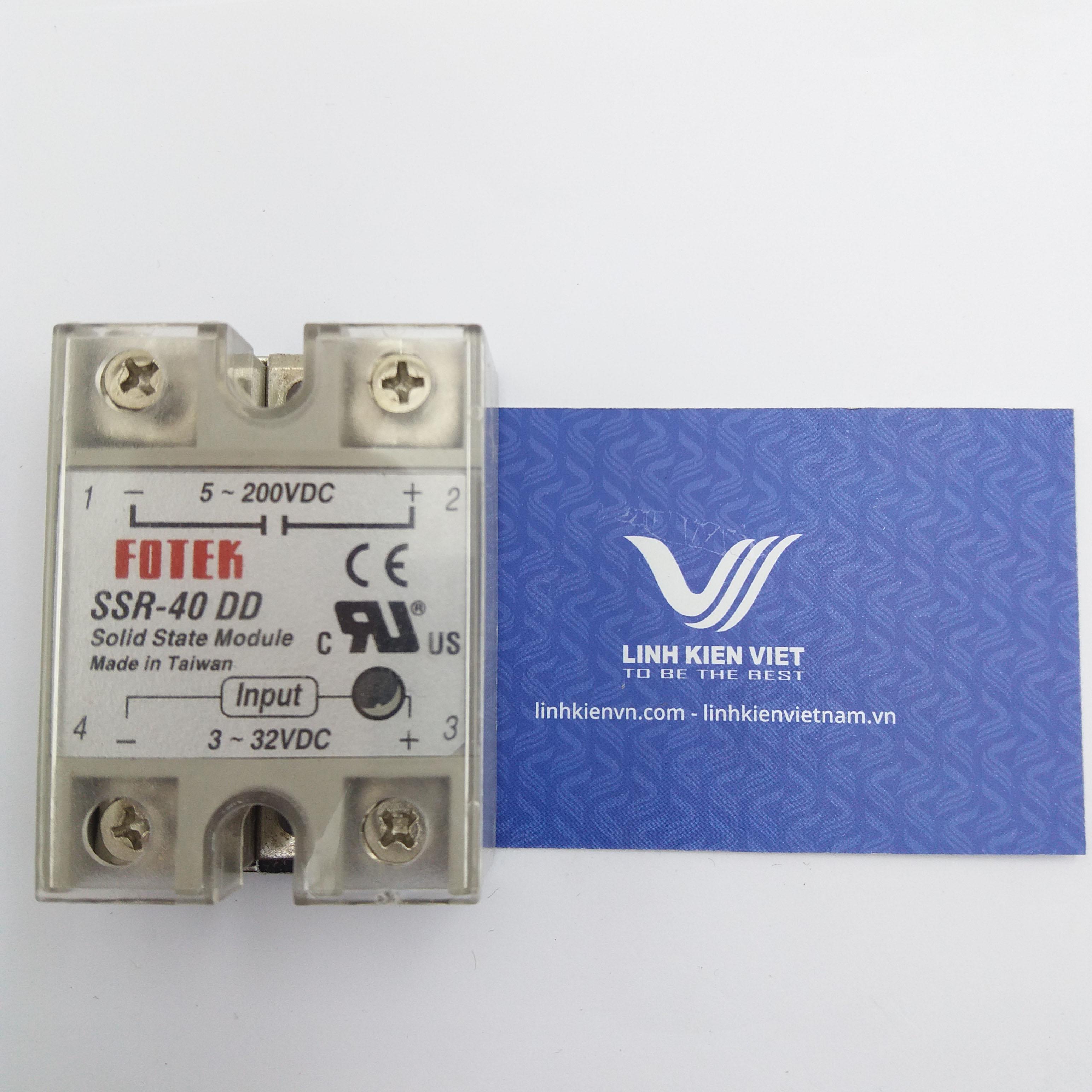 Relay bán dẫn SSR-40DD SSR40DD 40A I7H14
