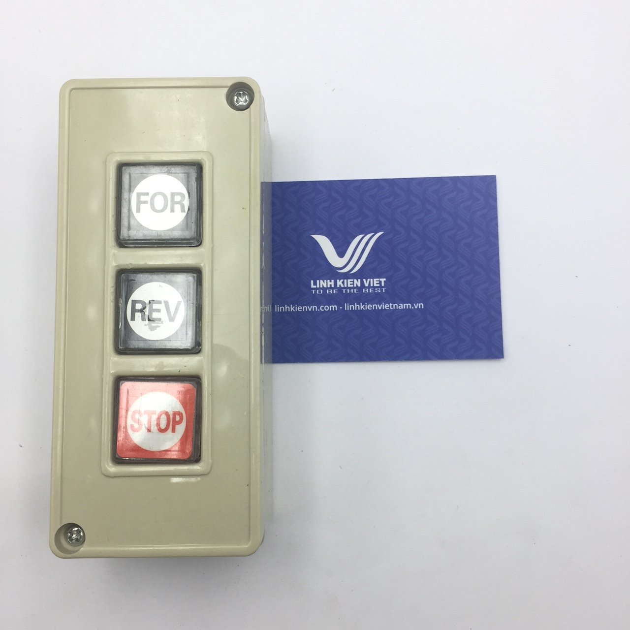 HỘP NÚT NHẤN TPB-3 3A/250V i9H18