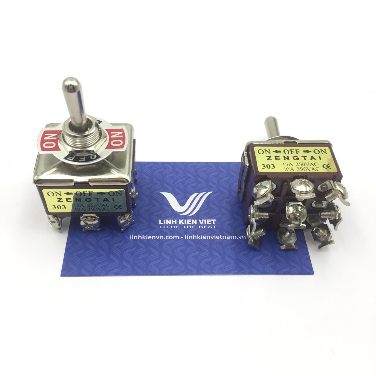 Công tắc ZENGTAI E-TEN303 10A 380V - 3 trạng thái 3 cặp tiếp điểm - i10H18