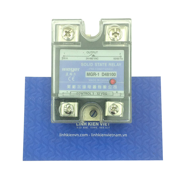 Relay bán dẫn MGR-1 D48100 100A Input: 3 - 32VDC - K2H3