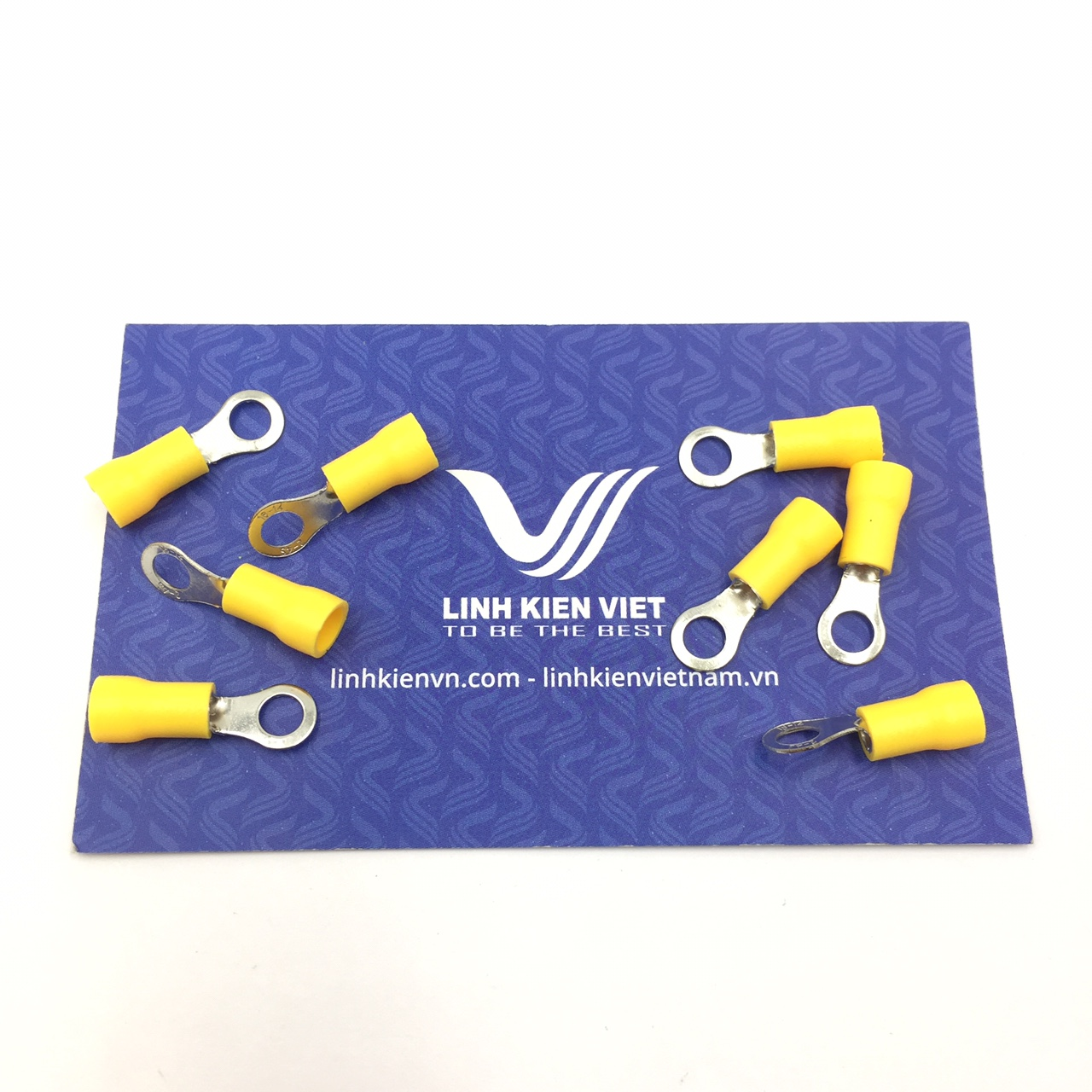 Đầu CỐT tròn RV2-4S Màu vàng - túi 100 cái - S2H8