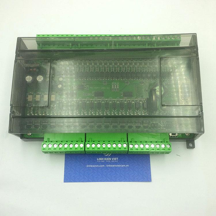 PLC board FX1N-40MT 24 IN 16 OUT CÓ VỎ TÍCH HỢP 2AD-2U