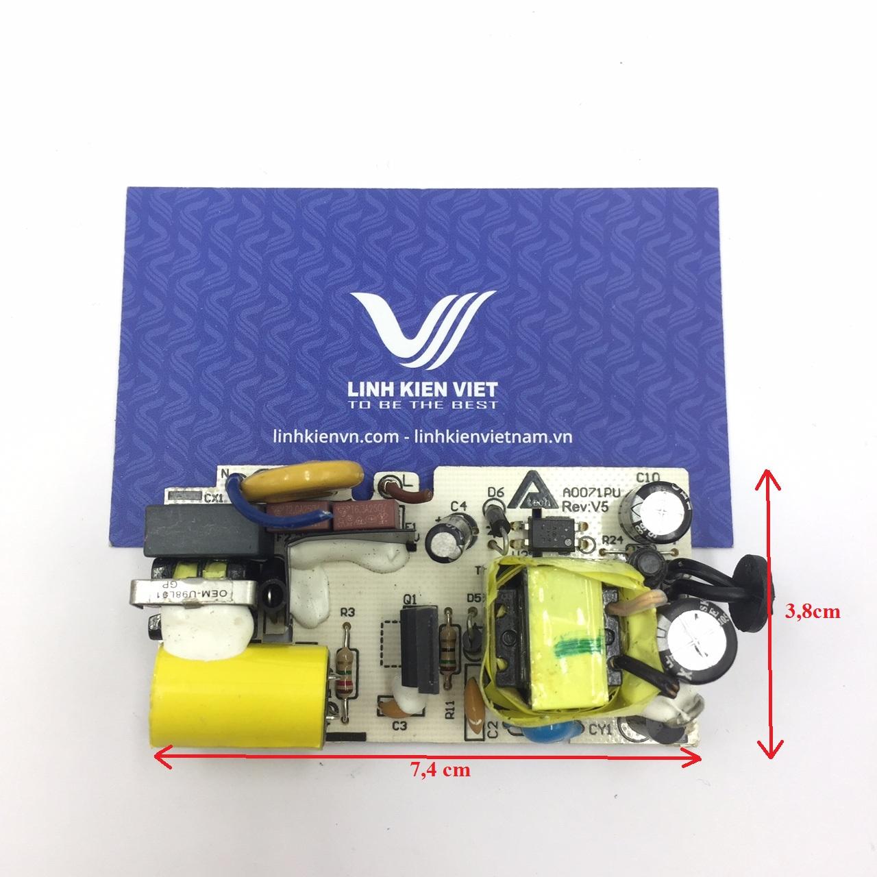 Nguồn adapter 5V 2A 5V2A không vỏ - J5H9(KA1H2)