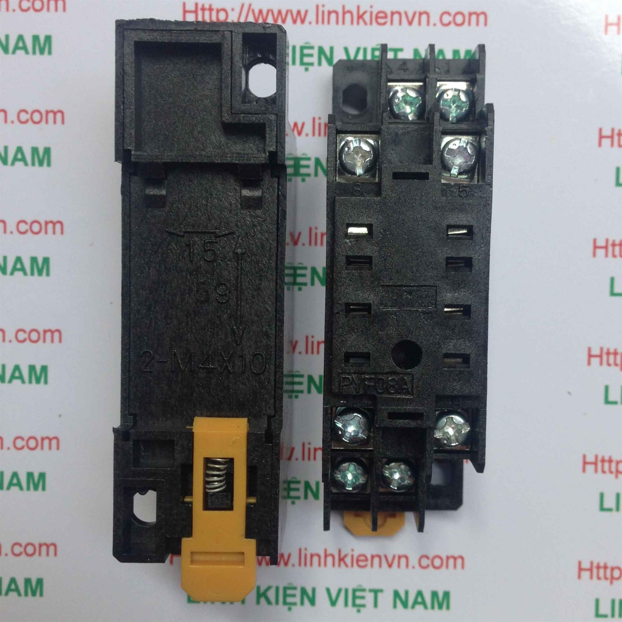 Socket Relay PYF08A - Đế Relay 8 chân - A1H20