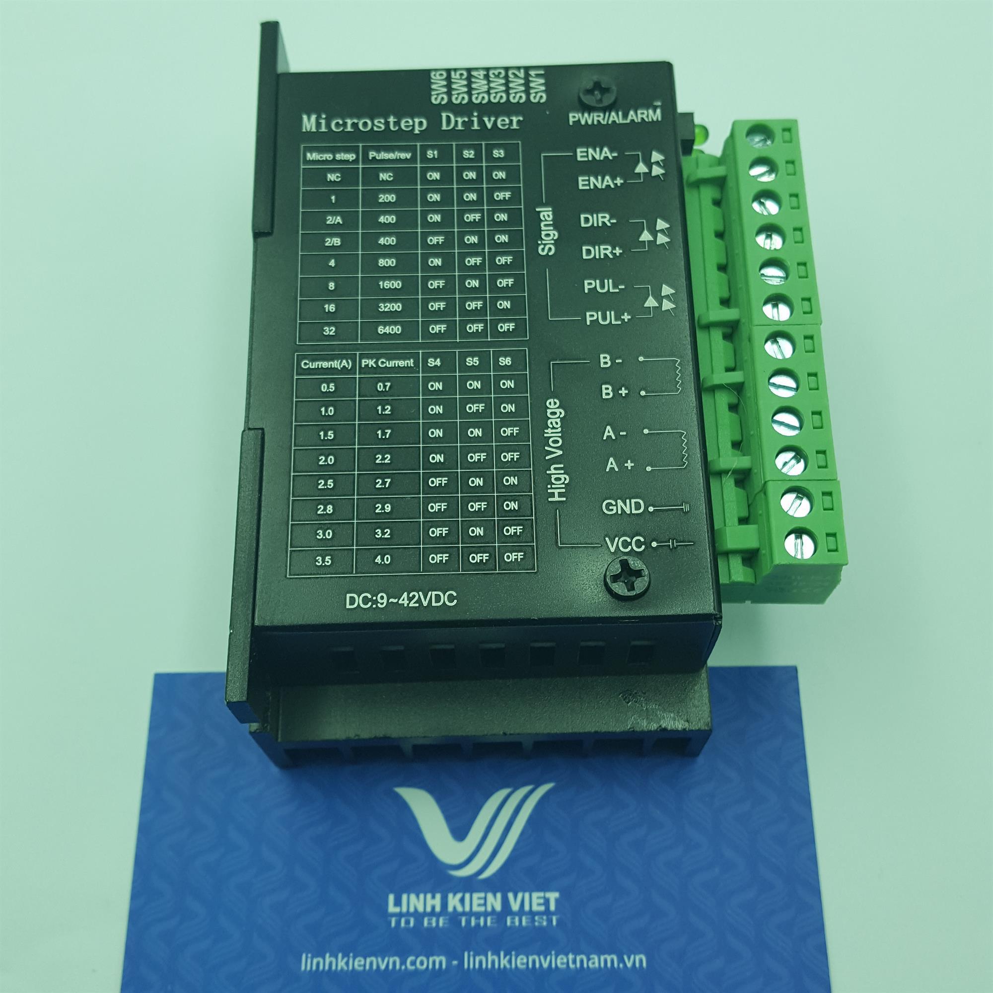 Driver điều khiển động cơ bước 57BYG250B 1.2N.M - KHO G