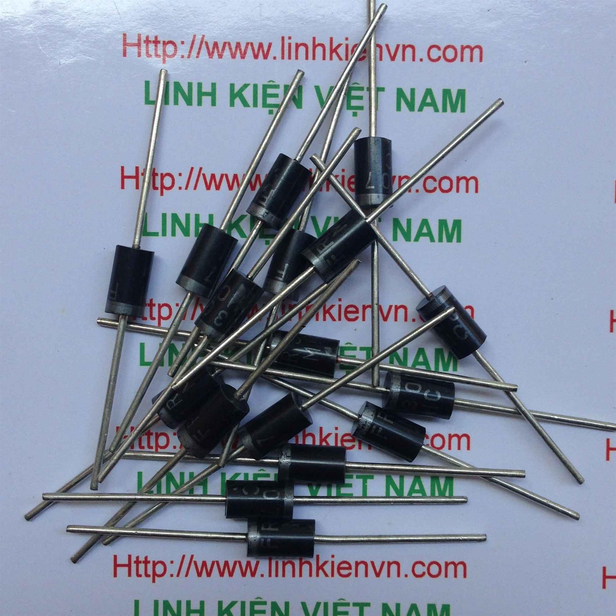 [BÁN BUÔN] Diode FR307 - 3A - 1 hộp 250 chiếc - B6H12(KB3H3)