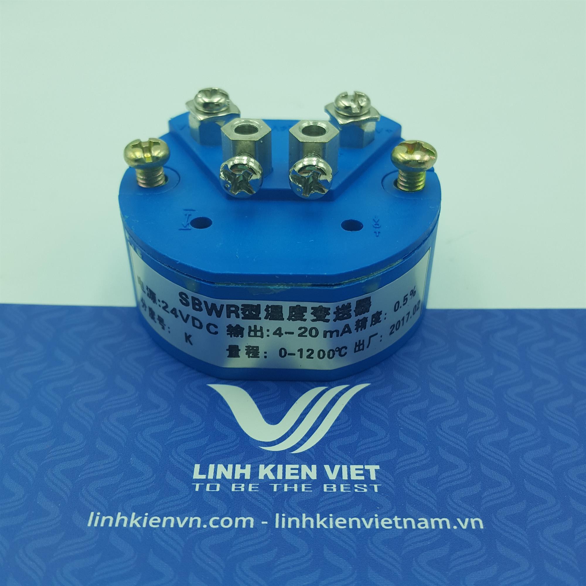 Bộ chuyển đổi nhiệt độ K 4-20mA / 0-1200 độ- J2H13