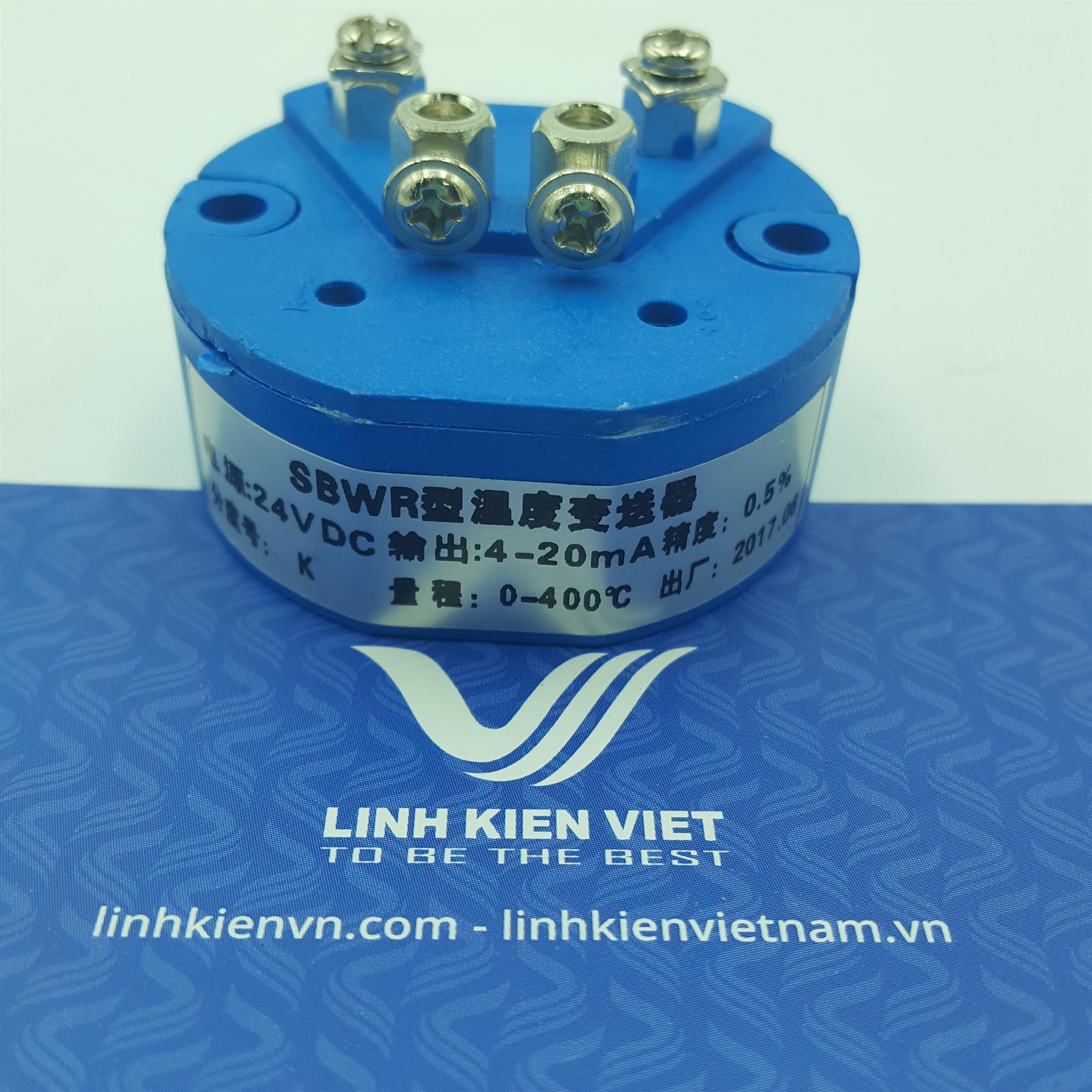 Bộ chuyển đổi nhiệt độ K 4-20mA / 0-400 độ- J2H13