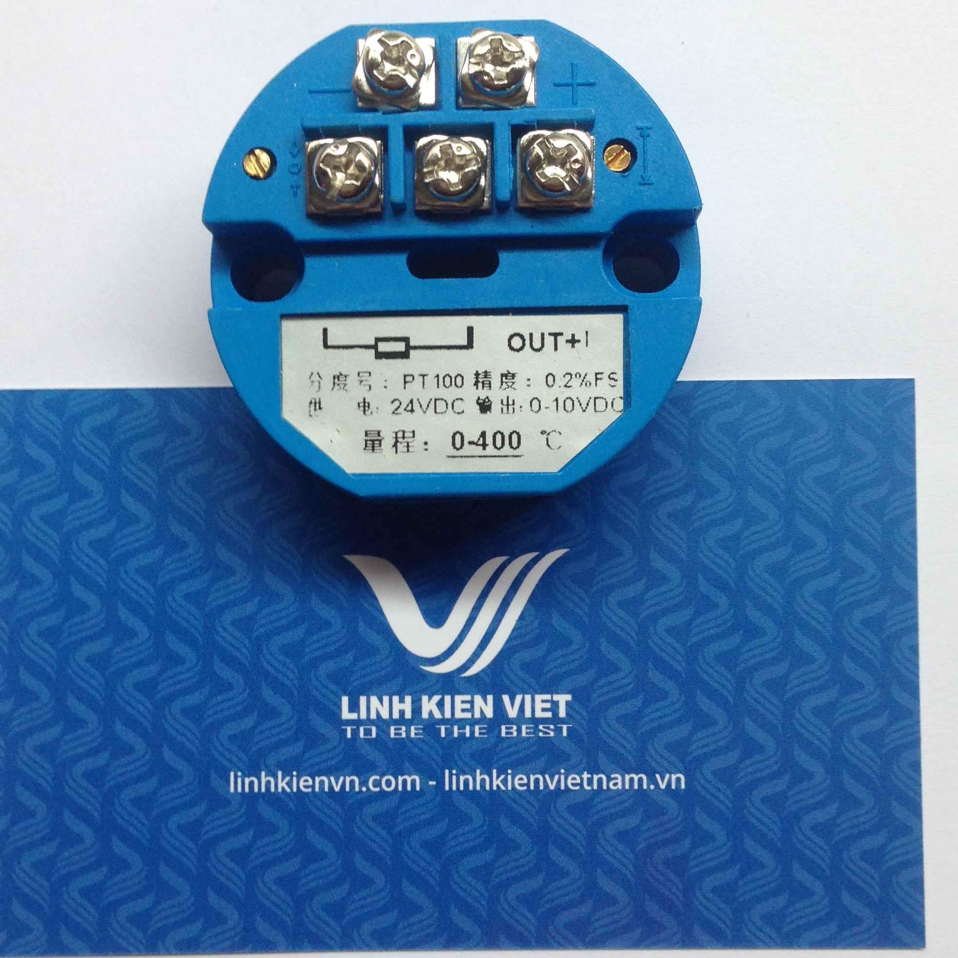 Bộ chuyển đổi nhiệt độ PT100 4-20mA / 0-100 độ - J2H16