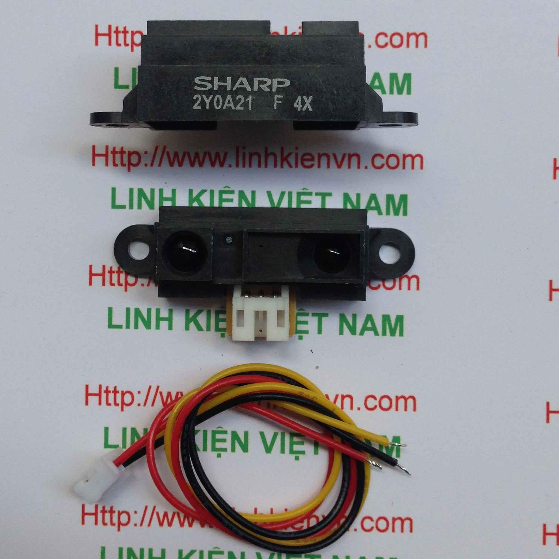 Cảm Biến Khoảng Cách GP2Y0A02YK0F 2Y0A21 20-150cm SHARP - B2H7