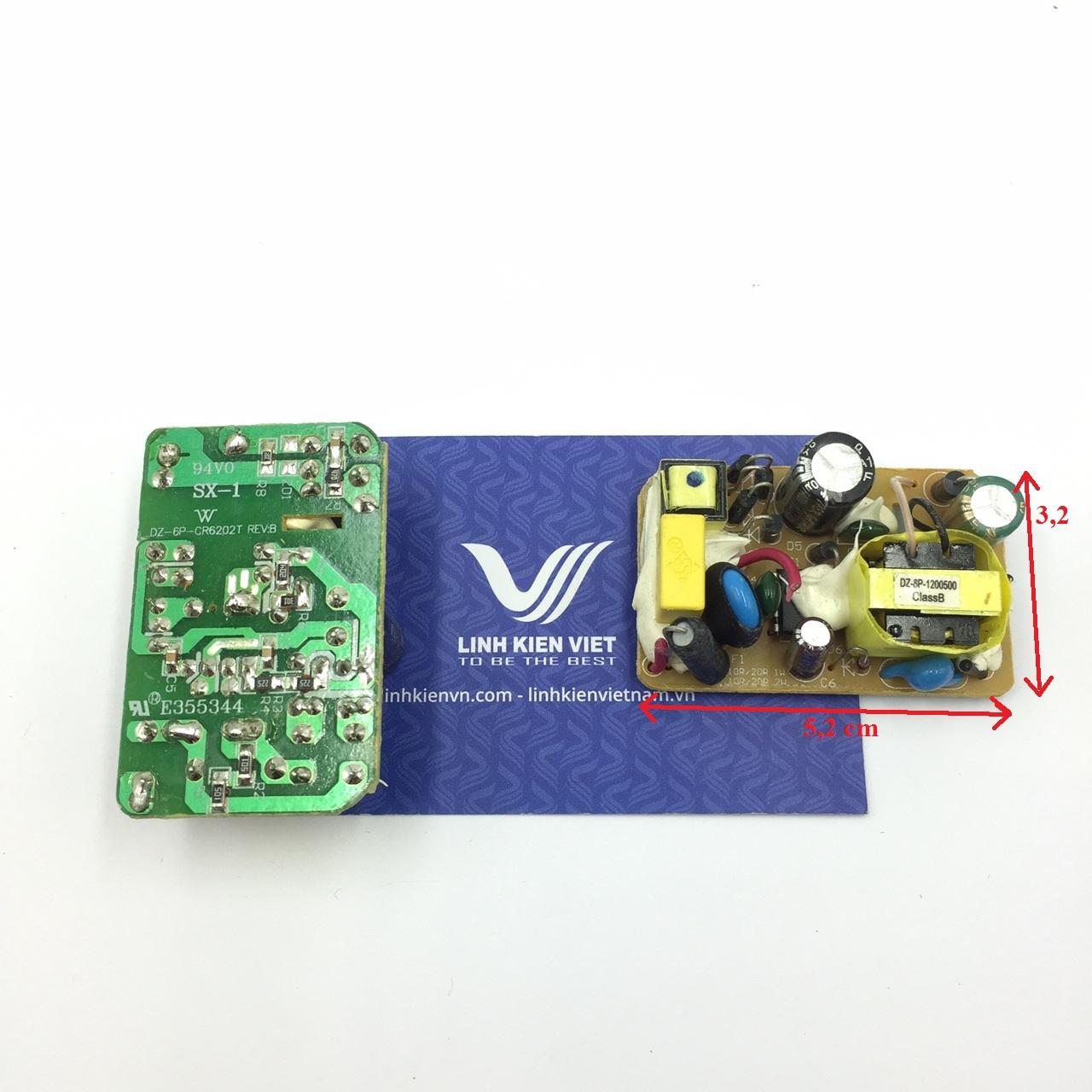 Nguồn adapter 12V 1A 12V1A không vỏ - j5H8 (KA1H2)