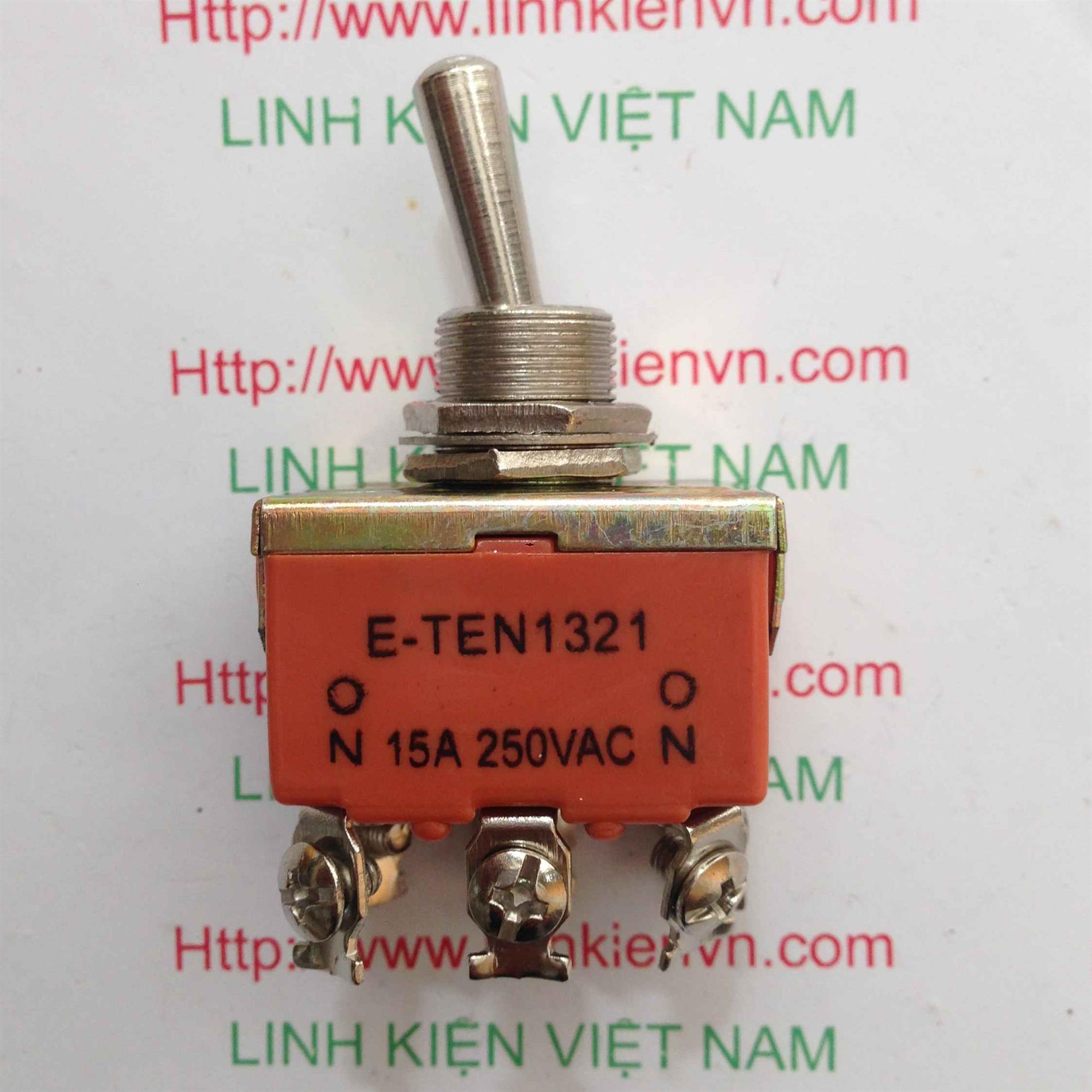 Công tắc E-TEN1321 15A/250VAC - 2 trạng thái - D3H12
