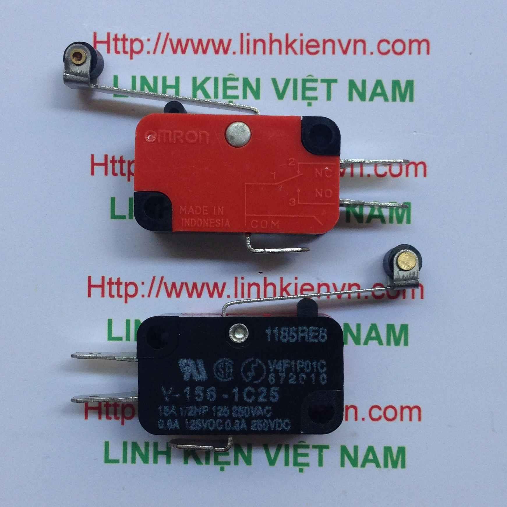 Công tắc hành trình 15A250V có bánh lăn V-156-1C25 - D3H15(KB6H2)