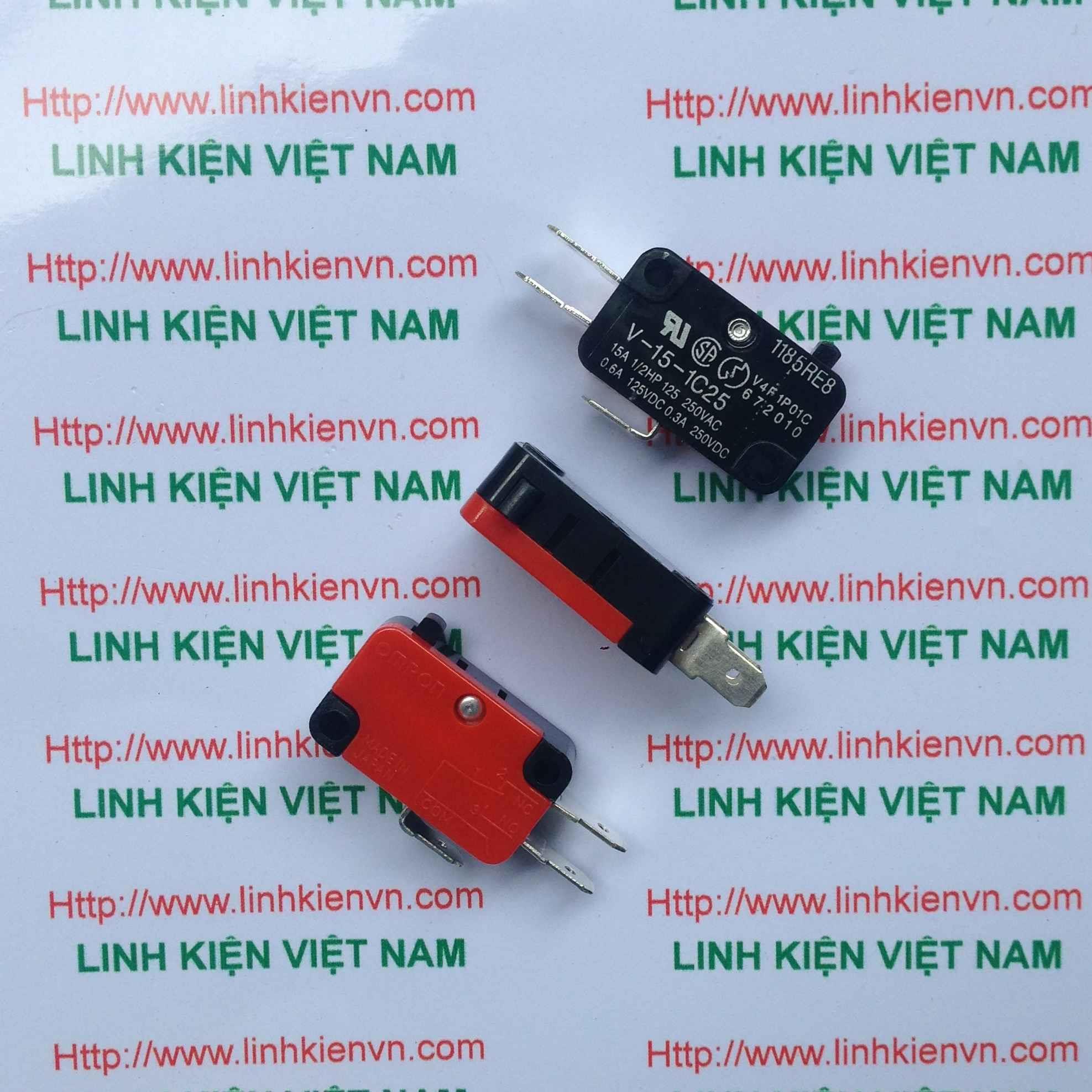 Công tắc hành trình 15A 250V V-15-1C25 -G7H4(KB6H2)