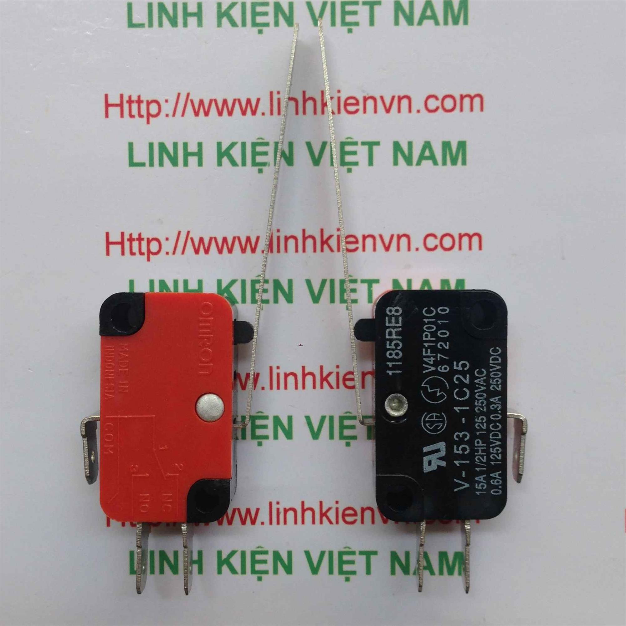 Công tắc hành trình 15A250V V-152-1C25 - D3H13(KB6H2)