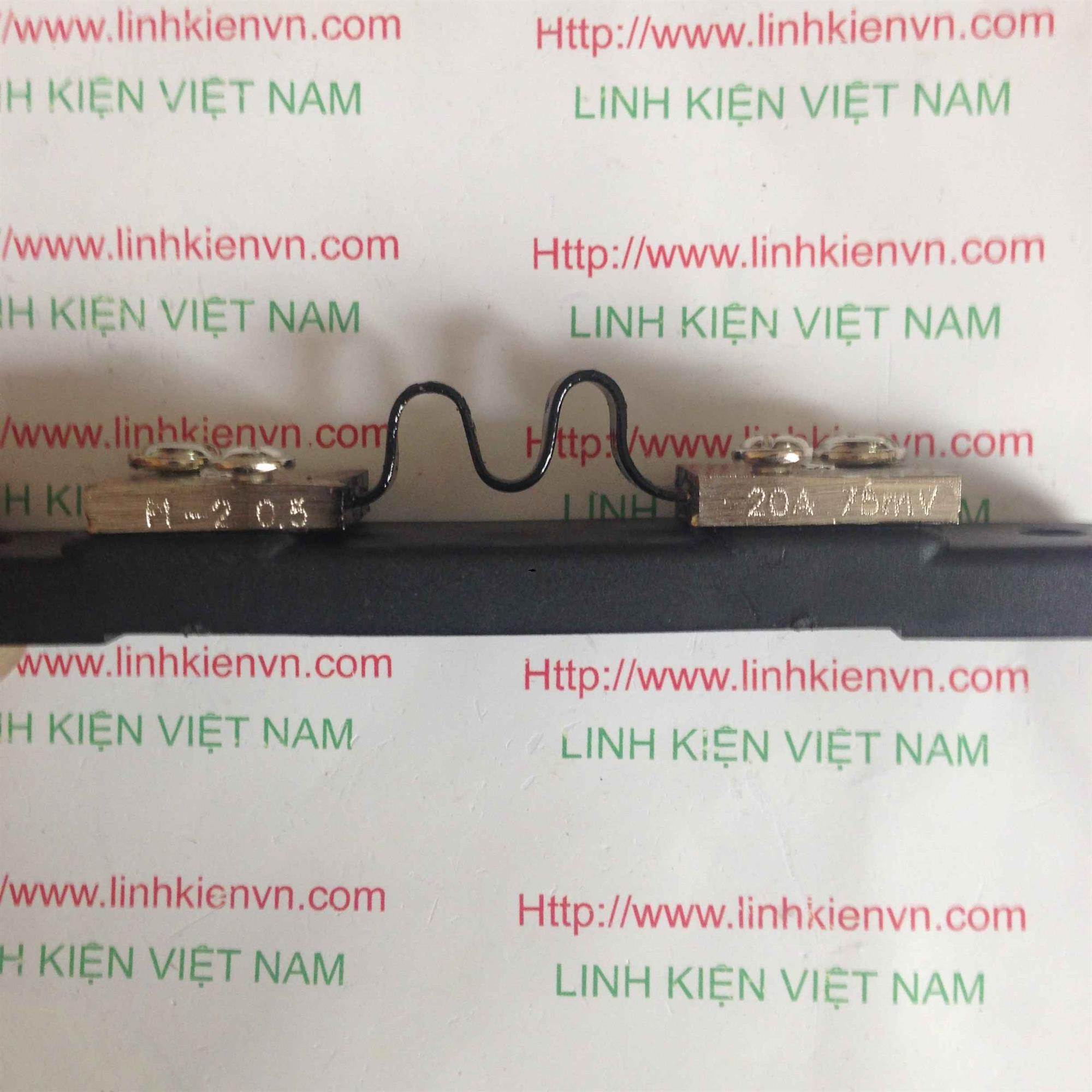 Điện Trở Shunt 20A75mV - K5H6