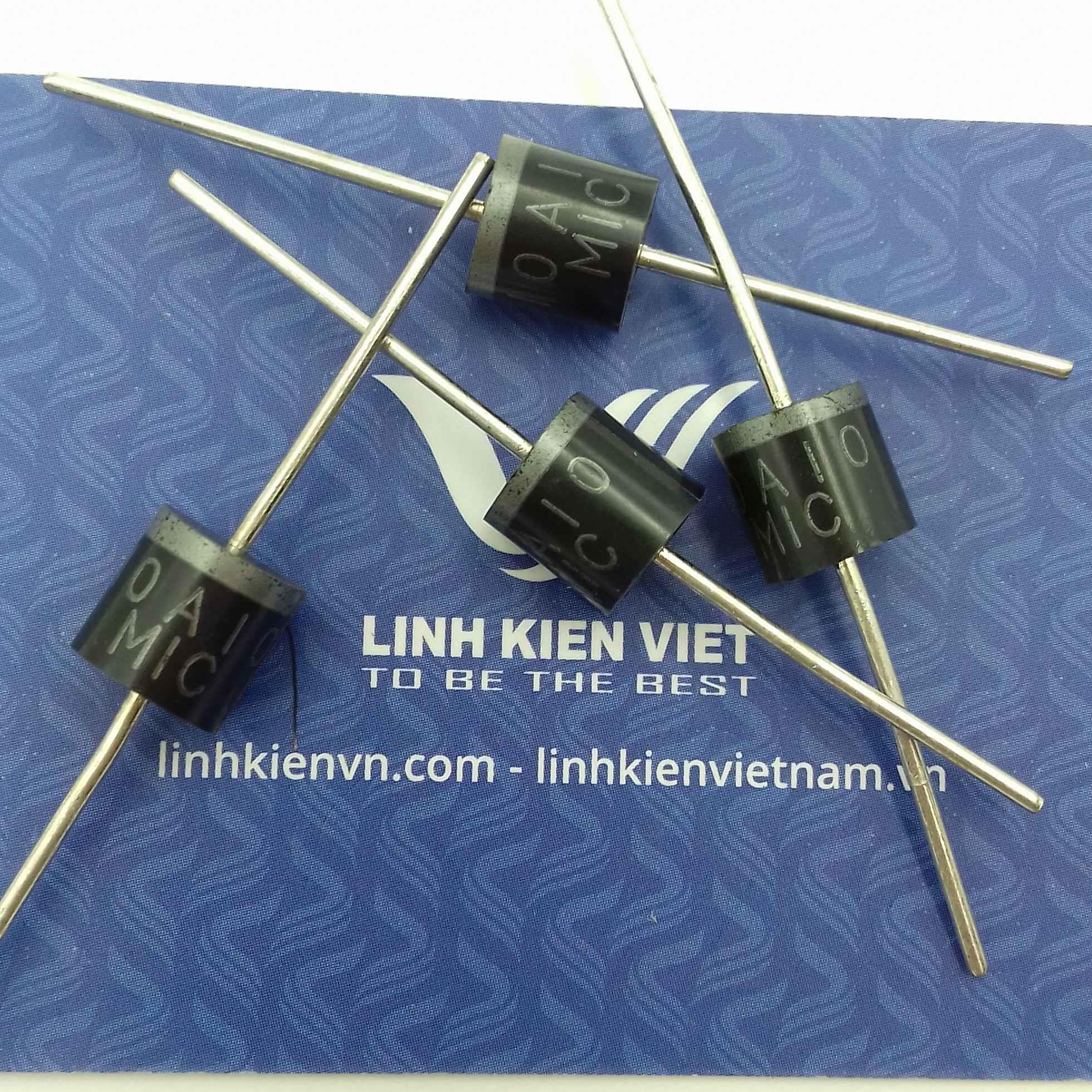 Diode chỉnh lưu 10A 1000V 10A10 - G5H6(KB3H3)